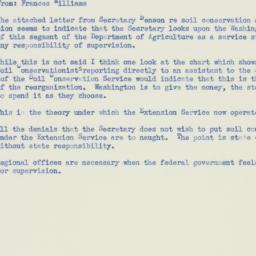 Memorandum : 1953 November 9