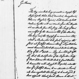 Document, 1784 January 14