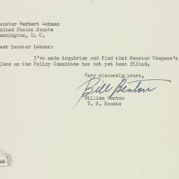 Letter: 1951 April 9