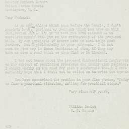 Letter: 1951 July 17