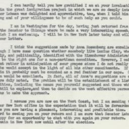 Letter: 1953 October 12