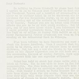 Letter: 1953 November 24
