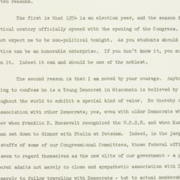 Speech: 1954 January 13