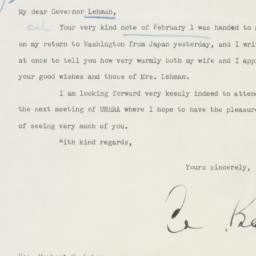 Letter : 1946 February 14