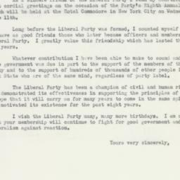 Letter : 1952 May 3