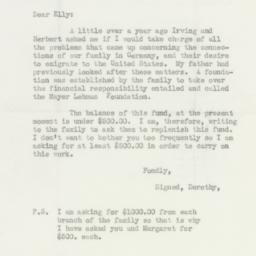 Letter : 1937 December 1