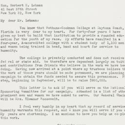 Letter : 1949 June 27