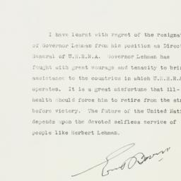 Letter: 1946 March 26