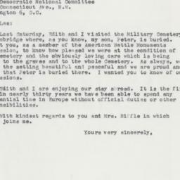 Letter : 1957 June 17