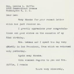 Letter : 1960 April 4