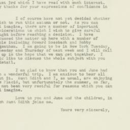 Letter : 1949 August 6