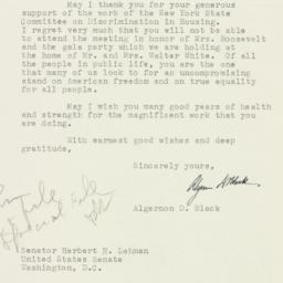 Letter: 1953 December 16