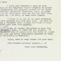 Letter: 1959 January 8