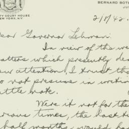 Letter : 1942 February 8