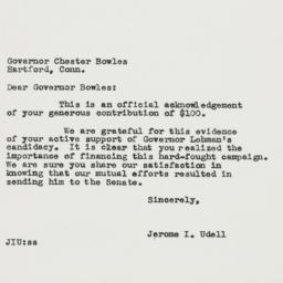 Letter : 1949 November 15