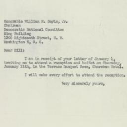 Letter : 1951 January 8