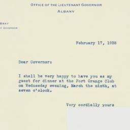 Letter : 1938 February 17