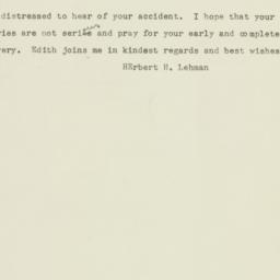 Telegram : 1948 January 13