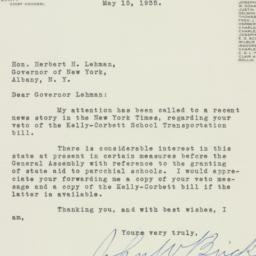 Letter : 1935 May 15