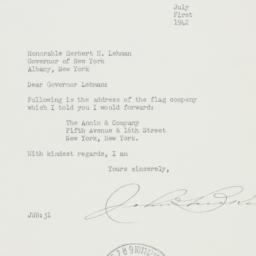 Letter : 1942 July 1