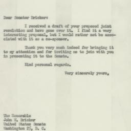 Letter : 1952 February 6