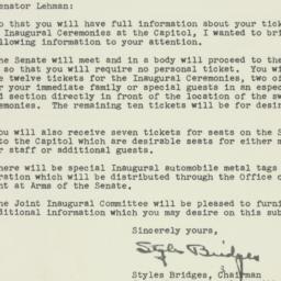 Letter : 1953 January 12