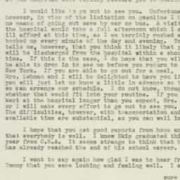 Letter : 1943 July 8