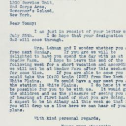 Letter : 1941 July 28