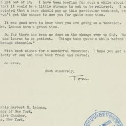 Letter : 1941 July 29