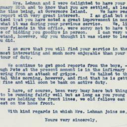 Letter : 1942 January 21