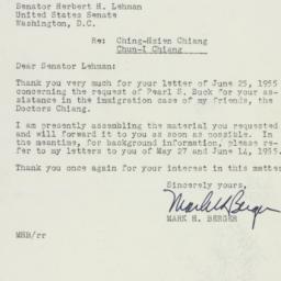 Letter : 1955 June 27