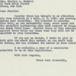 Letter : 1955 May 16