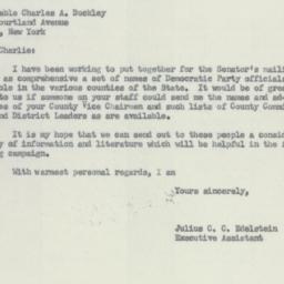 Letter : 1956 August 2