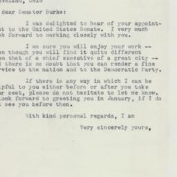 Letter : 1953 October 19
