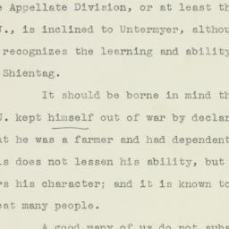 Letter : 1933 September 21