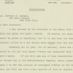 Letter : 1933 December 26