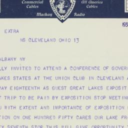 Telegram: 1936 May 14