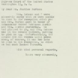 Letter : 1950 May 4