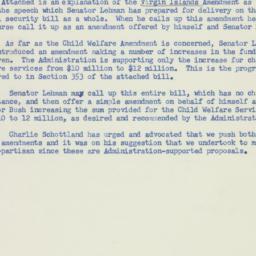 Memorandum : 1956 July 16
