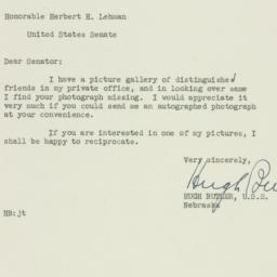 Letter: 1951 May 19