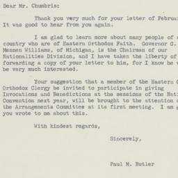 Letter : 1955 March 2