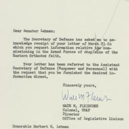 Letter : 1955 March 25