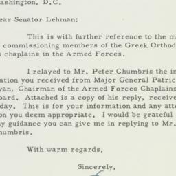 Letter : 1955 April 21