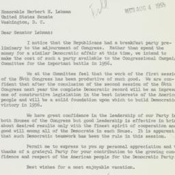 Letter: 1955 August 4