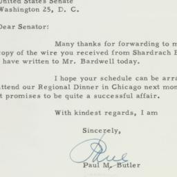 Letter : 1955 October 27