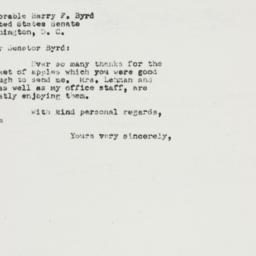 Letter : 1950 February 24