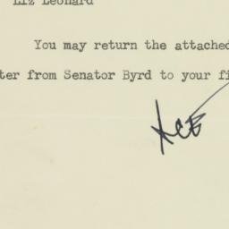 Memorandum : 1959 January 23