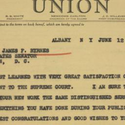 Telegram : 1941 June 12