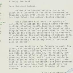 Letter : 1941 March 20