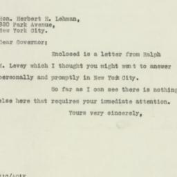 Letter : 1930 January 17
